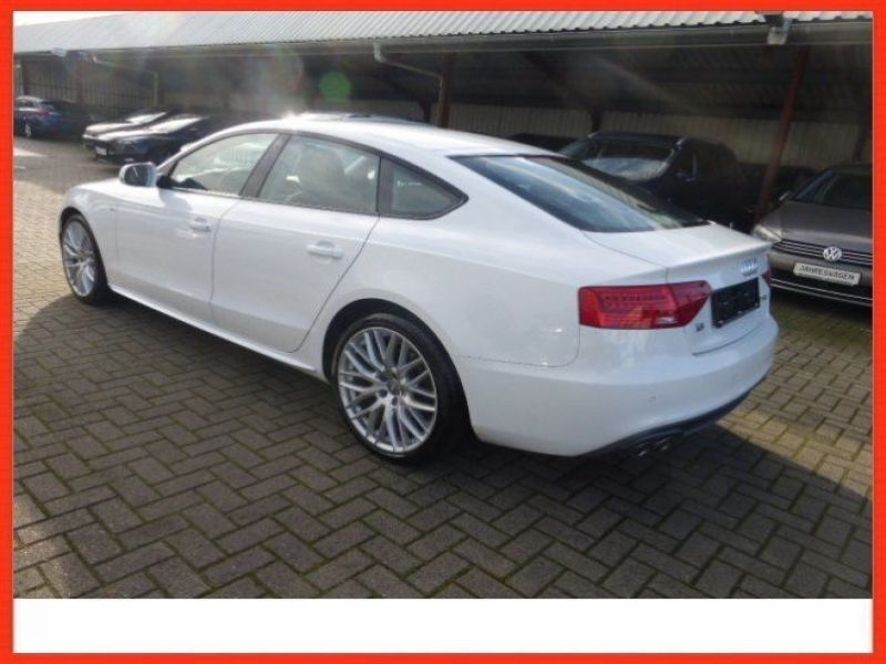 audi a5 sportback 2 0 tdi 150 diesel occasion de couleur blanc en vente chez le mandataire. Black Bedroom Furniture Sets. Home Design Ideas
