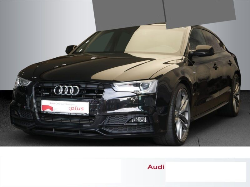 audi a5 sportback 3 0 tdi quattro 218 s line diesel occasion de couleur noir mtallise en vente. Black Bedroom Furniture Sets. Home Design Ideas