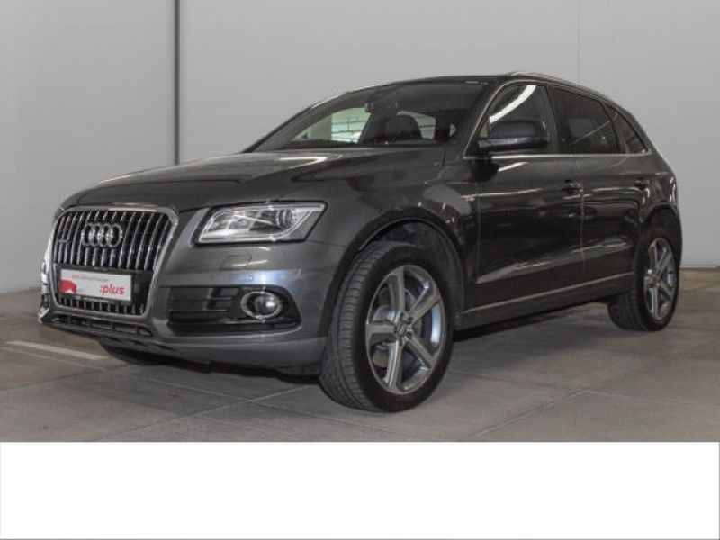 audi q5 3 0 tdi quattro s line 245 diesel occasion de couleur gris metallise en vente chez le. Black Bedroom Furniture Sets. Home Design Ideas