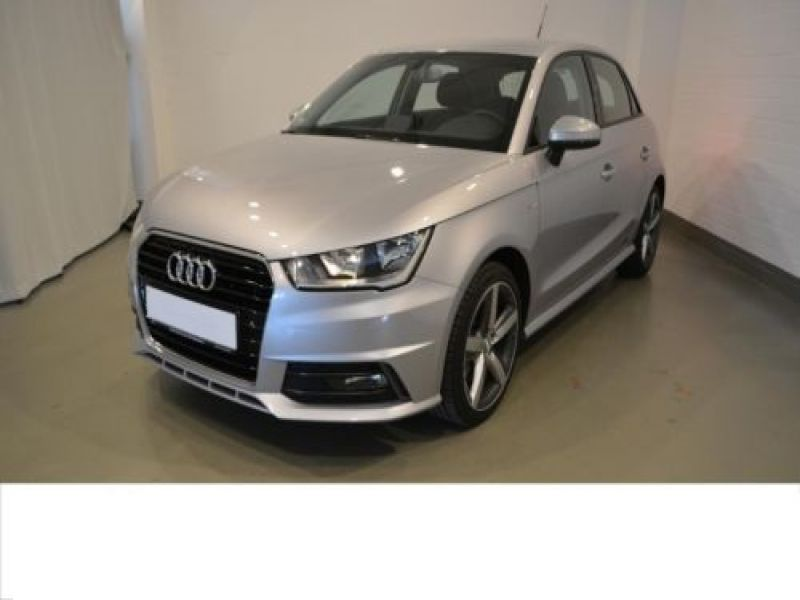 audi a1 sportback 1 6 tdi 116 cv s line diesel occasion de couleur argent m tallis en vente. Black Bedroom Furniture Sets. Home Design Ideas