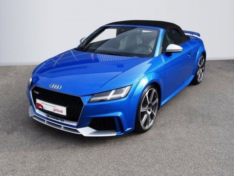 audi tt rs roadster occasion et faible km du mandataire audi toulouse carprivilges. Black Bedroom Furniture Sets. Home Design Ideas