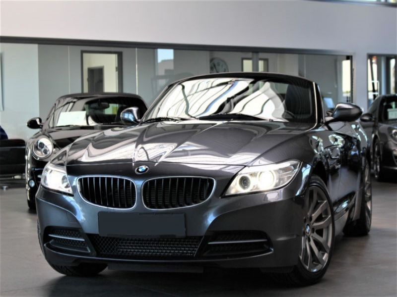 bmw z4 sdrive 28 i essence occasion de couleur gris metallise en vente chez le mandataire auto. Black Bedroom Furniture Sets. Home Design Ideas