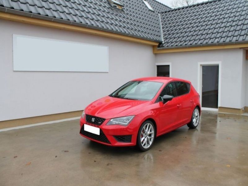 seat leon cupra 2 0 tsi 280 essence occasion de couleur rouge en vente chez le mandataire auto. Black Bedroom Furniture Sets. Home Design Ideas
