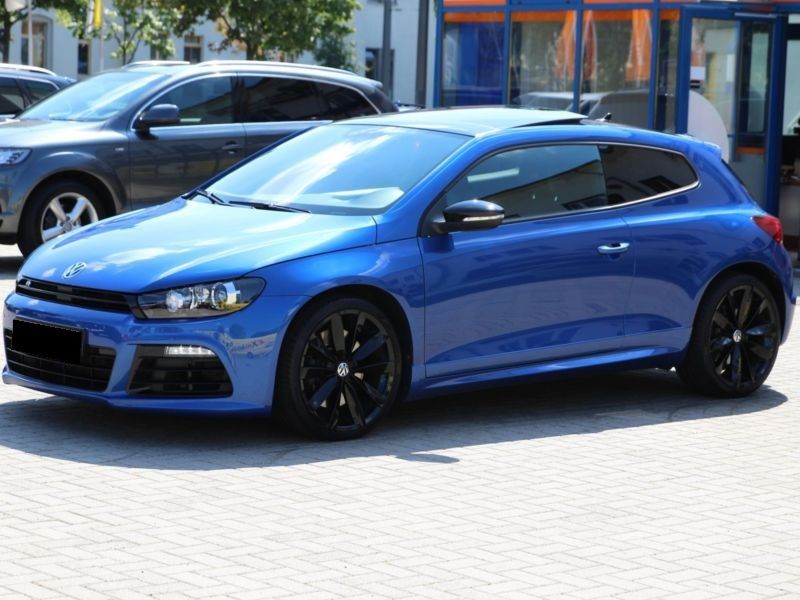 volkswagen scirocco 2 0 tsi 265 r dsg essence occasion de couleur bleu mtallise en vente chez. Black Bedroom Furniture Sets. Home Design Ideas