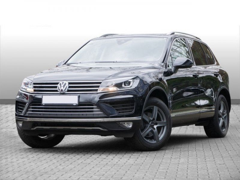 volkswagen touareg 3 0 tdi 4motion 262 diesel occasion de couleur noir metallis e en vente. Black Bedroom Furniture Sets. Home Design Ideas