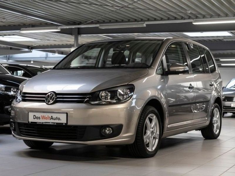 volkswagen touran 1 2 tsi 105 essence occasion de couleur beige m tallis e en vente chez le. Black Bedroom Furniture Sets. Home Design Ideas