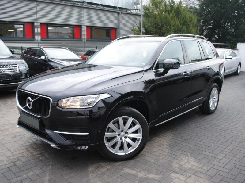 volvo xc90 d5 225 awd business 7 places diesel occasion de couleur noir metallis e en vente. Black Bedroom Furniture Sets. Home Design Ideas